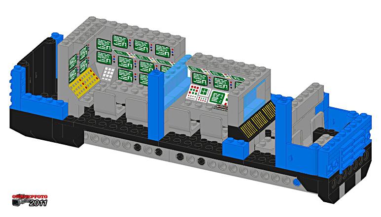 """Doos 163 Foto 3260. Project """"Reportagewagen van Lego"""" van Erik Snel"""