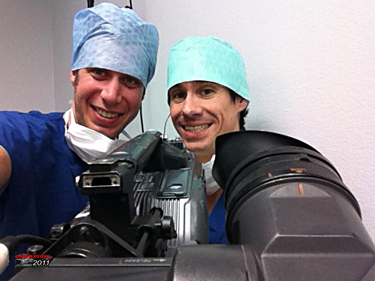 """Op deze OmroepFoto : 26 oktober 2011. In de OK bij """"Operatie Live"""" van Max. Foto : Mark Seegers"""