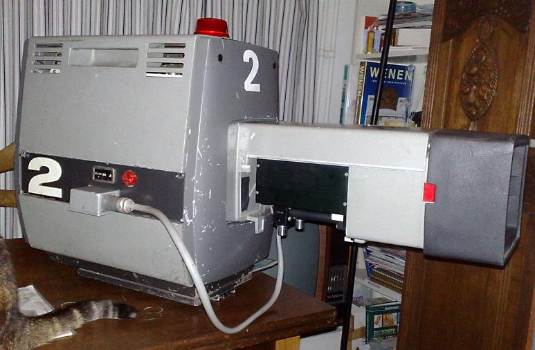 Op deze OmroepFoto : Camera-2 van Trein-12 bij de abdicatie van 1980