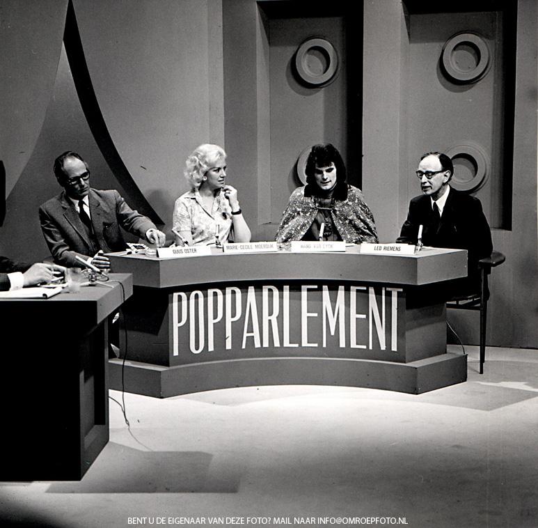 Op deze OmroepFoto : PopParlement NCRV 1970