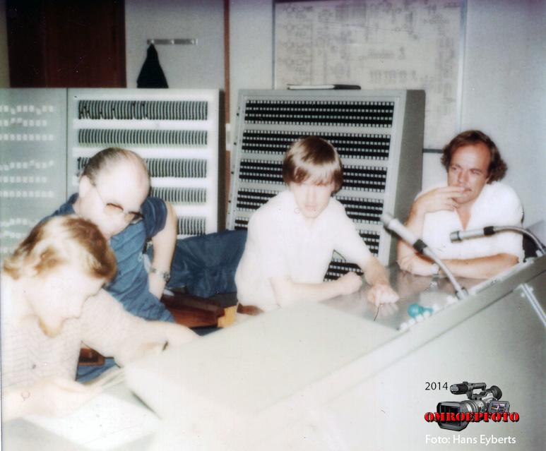Op deze OmroepFoto : Op de foto: Joshua Smit, John Boersma, Hans Eyberts en ???