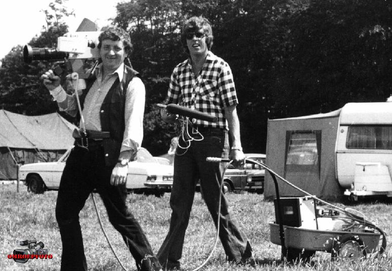 Op deze OmroepFoto : Ruud Stienen cam en Rudolf Hilhorst in 1977 (oefenen met ENG)