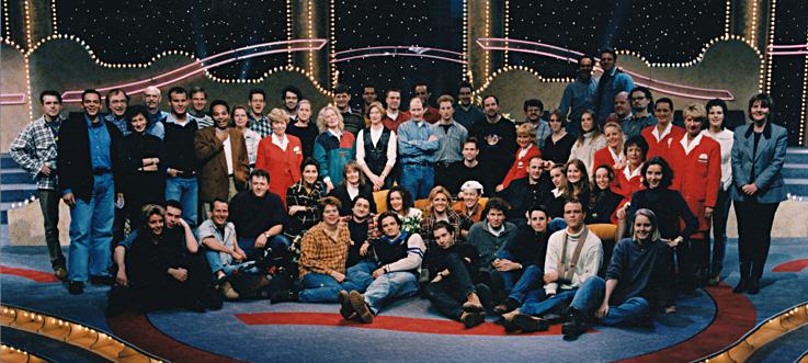 Op deze OmroepFoto : NOB 1996-1997 Groepsfoto 'Het spijt me'