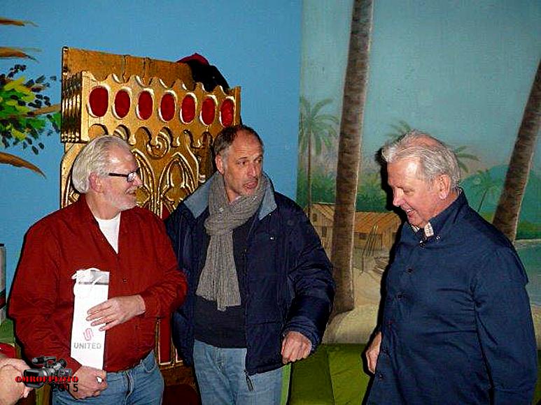 Op deze OmroepFoto : Hans, Dik Sevenga en Tim Seure