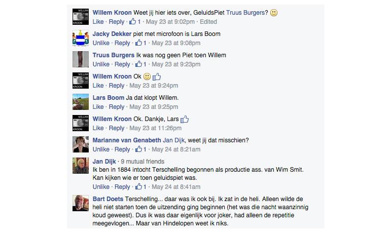 Op deze OmroepFoto : Reacties op FaceBook