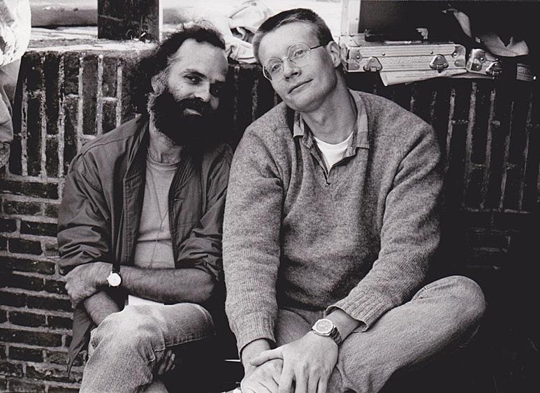 Op deze OmroepFoto : Nederland Muziekland in Heusden in 1986. Rob van den Houten en Bertus Duiven.