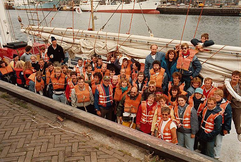 Op deze OmroepFoto : Met oa.: Koos van der Kooi, Claire Dollée, Daphny Muriloff and Jeroen Kamphoff.